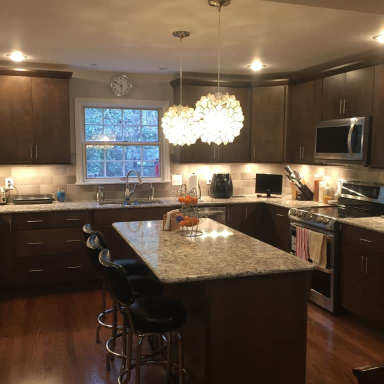 Wv design team kitchen transformed from cramped to for New style kitchen 2016