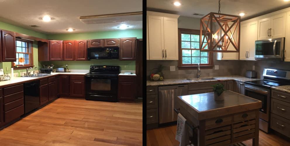 Kitchen Square Footage wv design team: tackling the kitchen renovation