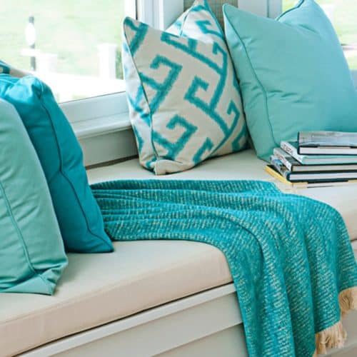 Sunbrella Fabrics Are Also Great In Window Seats, Breakfast Nooks And Entry  Hall Benches.