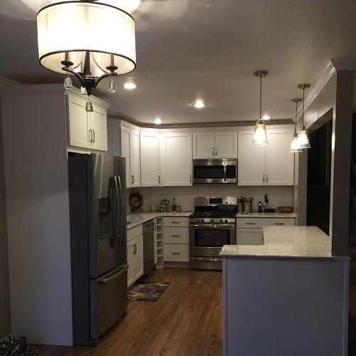 Kitchen Impossible Updates: WV Design Team: Storage, Decor Updates Give Family Dream
